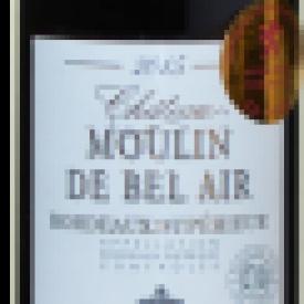 Château Moulin de Bel Air AOP Bordeaux Supérieur Frankrijk (Organic)